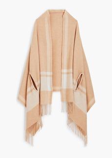 J.Crew Heather camel cape-scarf