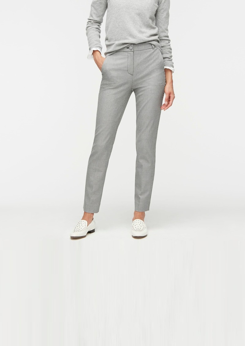 J.Crew High-rise Cameron pant in houndstooth