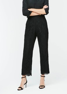 J.Crew High-rise pull-on Peyton wide-leg pant in lace