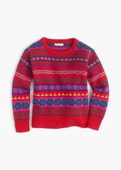 J.Crew Holly sweater in Fair Isle