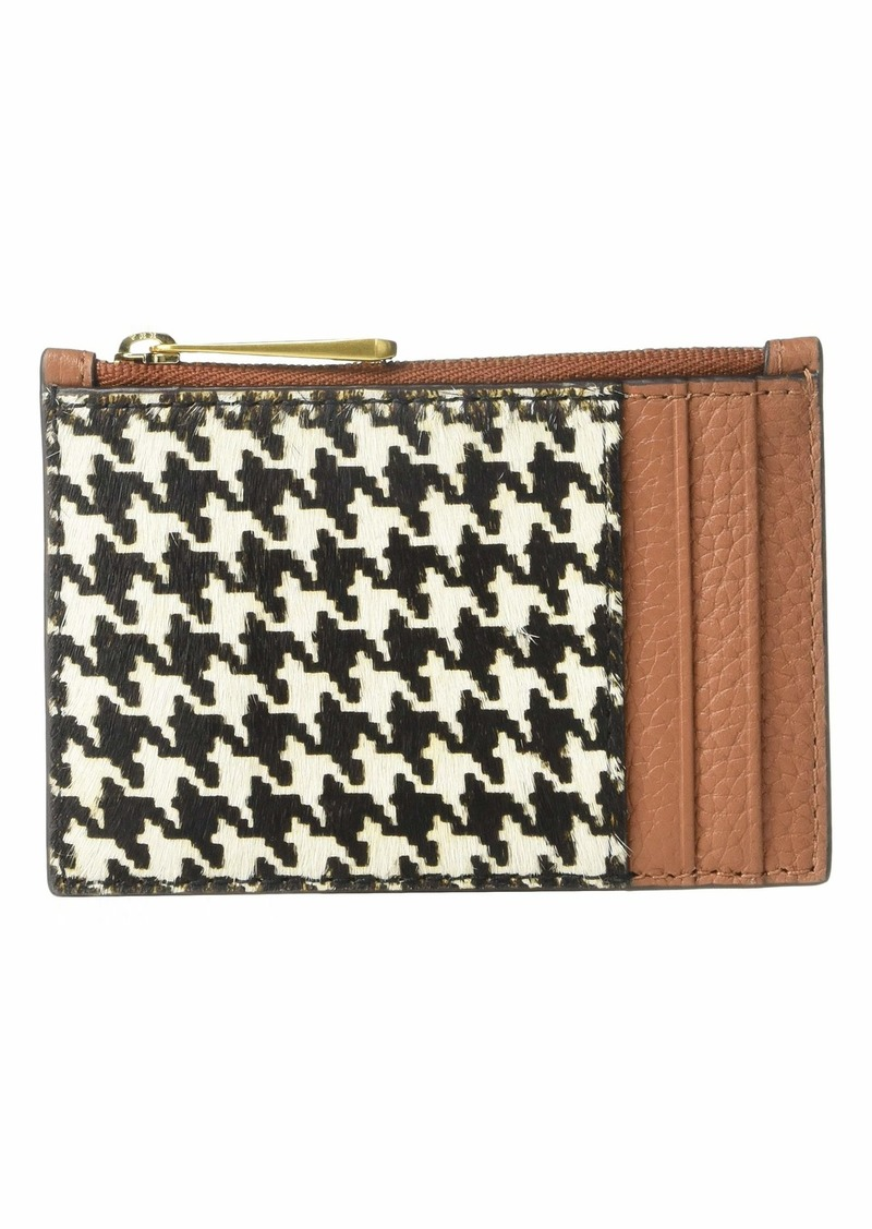 J.Crew Houndstooth Coin and Card Case