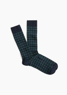 J.Crew Houndstooth socks