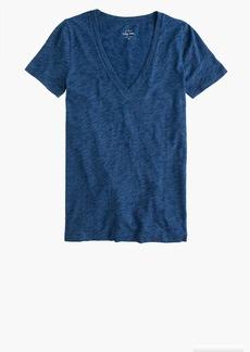 J.Crew Indigo vintage cotton V-neck T-shirt