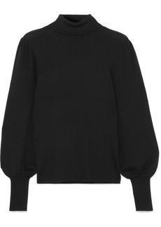 J.Crew Isa Ribbed Merino Wool Turtleneck Sweater