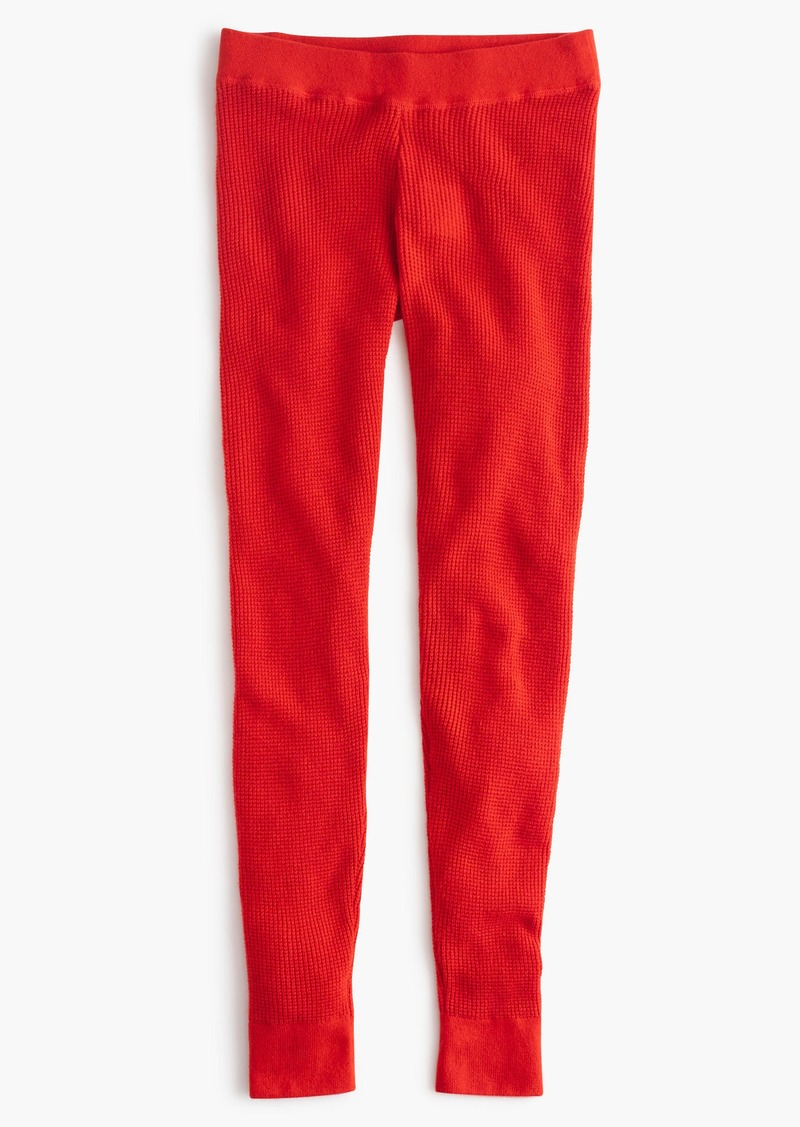 f7478baad5081 SALE! J.Crew Italian cashmere waffle leggings