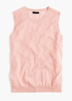 J.Crew Italian featherweight cashmere shell