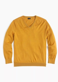 J.Crew Italian merino wool V-neck sweater