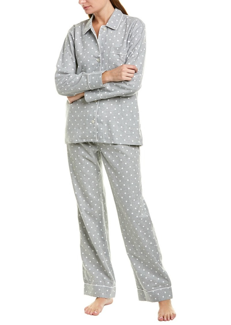 J.Crew J. Crew 2Pc Flannel Pajama Set