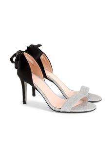 J.Crew J. Crew d'Orsay Sandals in Velvet and Glitter (Women)