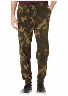 J.Crew Jama Jersey Printed Camo Pants
