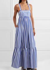 d88bfb83c ... J.Crew + Thomas Mason Honduras striped cotton-poplin maxi dress ...