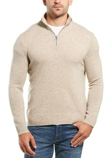 J.Crew 1/4 Zip Wool-Blend Sweater