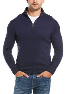 J.Crew 1/4-Zip Wool-Blend Sweater