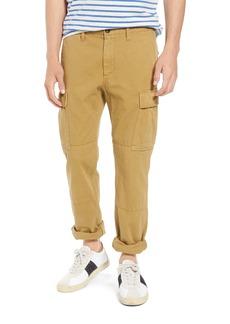 J.Crew 484 Slim Fit Garment Dye Herringbone Cargo Pants