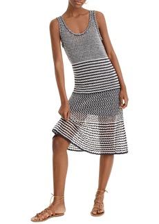 J.Crew A-Line Multi Stitch Knit Dress