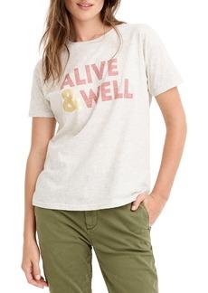 J.Crew Alive & Well Tee