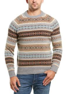 J.Crew Alta Fairisle Wool Sweater