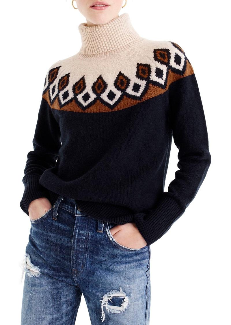J Crew J Crew Ambrose Fair Isle Merino Wool Sweater Sweaters