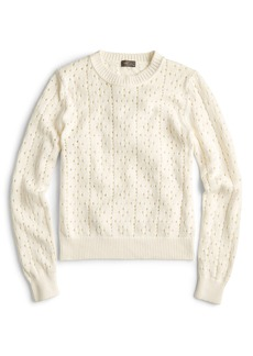 J.Crew Ariel Pointelle Sweater