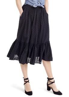 J.Crew Baluster Clip Dot Skirt (Regular & Petite)