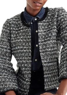 J.Crew Belle Sequin Tweed Jacket (Regular & Petite)