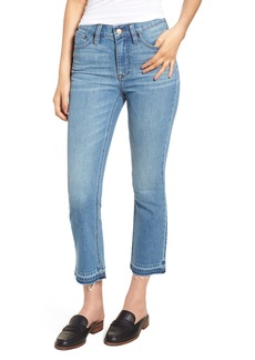 J.Crew Billie Demi Boot Crop Jeans (Redwood Wash) (Regular & Petite) (Nordstrom Exclusive)