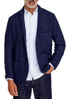 J.Crew Bird's Eye Knit Sweater Blazer