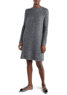 J.Crew Bow Tie Open Back Sweater Dress