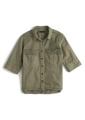J.Crew Boy Meets Girl Utility Shirt (Regular & Petite)