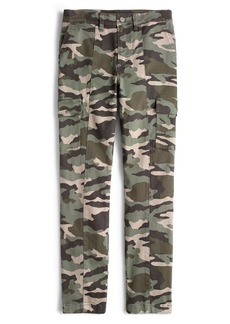 J.Crew Camo Straight Leg Cargo Pants (Regular & Petite)