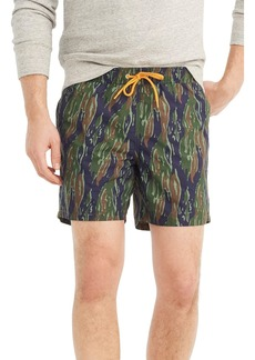 J.Crew Camo Swim Trunks