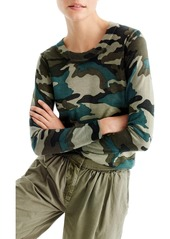 J.Crew Camo Tippi Merino Wool Sweater