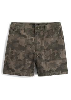 J.Crew Camouflage Print Cargo Shorts
