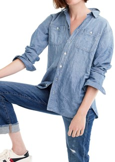 J.Crew Chambray Tunic Shirt