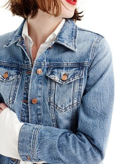 J.Crew Classic Denim Jacket (Regular & Petite)