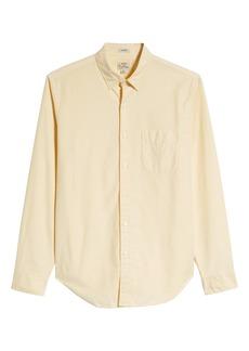 J.Crew Classic Fit Stretch Pima Cotton Oxford Sport Shirt