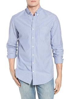 J.Crew Classic Fit Stretch Secret Wash Stripe Sport Shirt