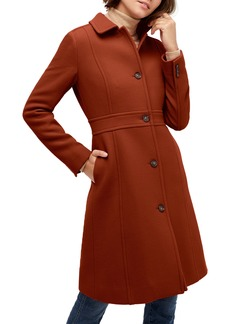 J.Crew Classic Lady Italian Double Cloth Wool Blend Day Coat