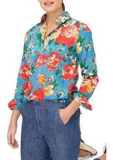 J.Crew Classic Ratti® Bahama Floral Print Popover Shirt