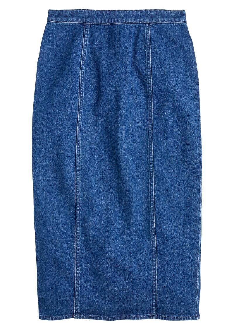 J.Crew Clean Pencil Skirt