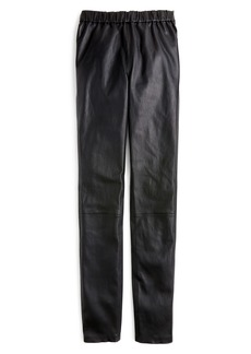 J.Crew Collection Leather Leggings