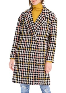 J.Crew Collection Oversize Lurex® Tweed Coat