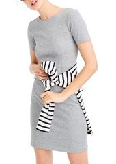 J.Crew Cotton Knit Sheath Dress