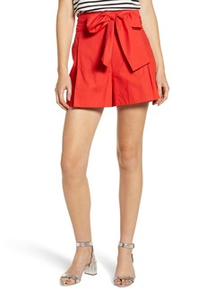 J.Crew Cotton Poplin Tie Waist Shorts