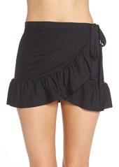 J.Crew Cover-Up Wrap Skirt