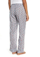 J.Crew Crop Lightweight Cotton Pajama Pants (Nordstrom Exclusive)