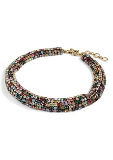 J.Crew Crystal Chain Collar Necklace