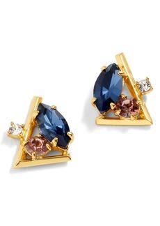 J.Crew Crystal Cluster Stud Earrings