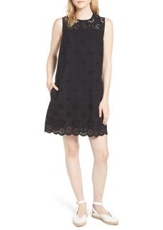 J.Crew Dante Yellowjacket Embroidery Dress