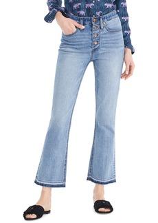 J.Crew Demi-Boot Crop jeans (Shale)